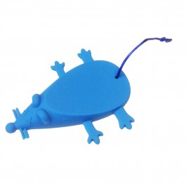 Mouse Door Stop in Blue