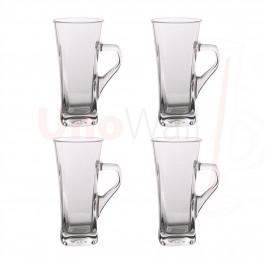 Unowall Geo Coffee Latte Glasses - 330ml