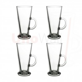 Unowall Boston Coffee Latte Glasses - 260ml