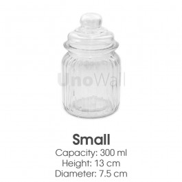 Unowall Sweet Jars - Small