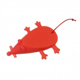 Mouse Door Stop in Red