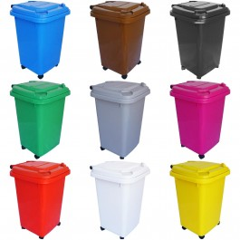 50L Wheelie Bins - Choice of Colours