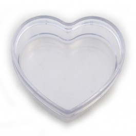 JfM Acrylic Heart Trinket Box