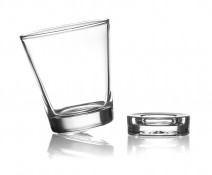 Unowall Pointe Glasses with Coasters