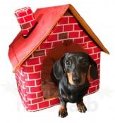 WIWO Brick Motif Pet House