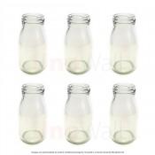 Unowall Glass Mini Milk Bottles (No Lids)