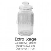 Unowall Sweet Jars - Extra Large