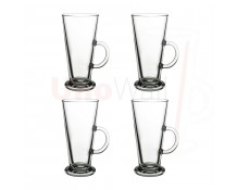Unowall Boston Coffee Latte Glasses - 260ml