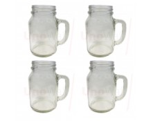 Unowall Glass Mason Jars (No Lids)