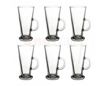 Unowall Boston Coffee Latte Glasses 260ml