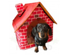 WIWO Brick Motif Pet House