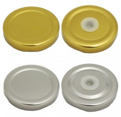 Unowall Mini Milk Bottle - Pack of 12 Spare Lids