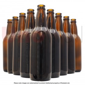 Unowall Amber Glass Beer Bottles 500ml