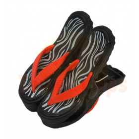 WIWO Pair of Sandal Towel Clips - Zebra Print