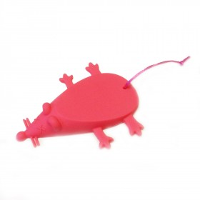 Mouse Door Stop in Pink